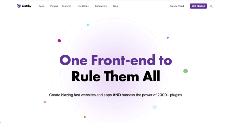 Gatsby Official Website