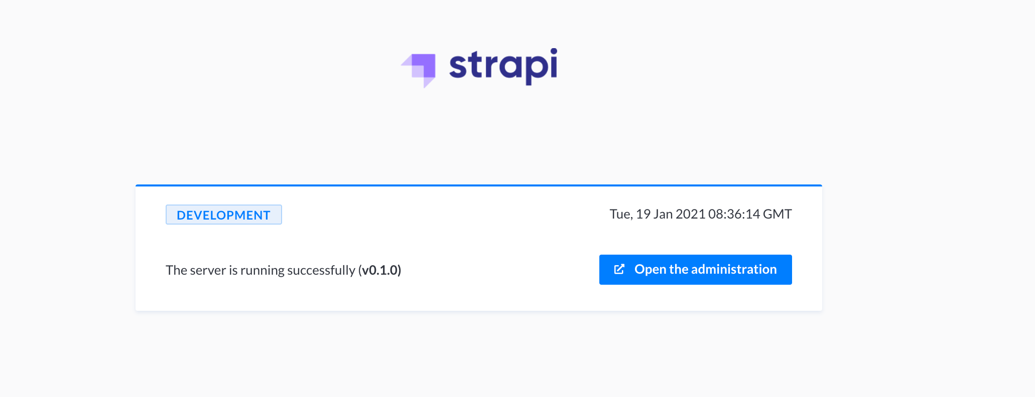 Strapi Server Deployed Successfully